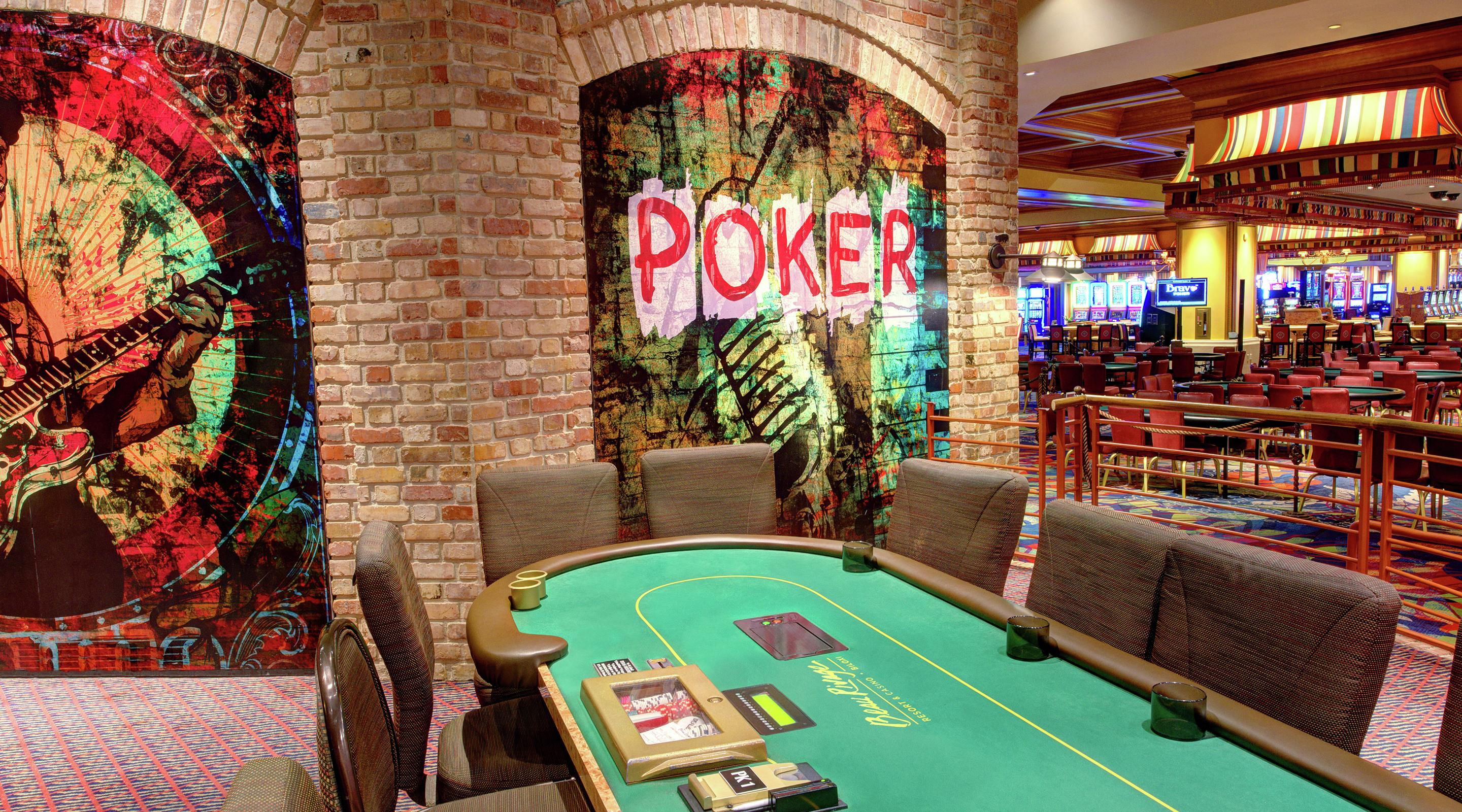Grand Villa Casino Poker Room