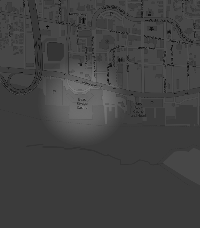 Footer Site Map: Beau Rivage Resort & Casino
